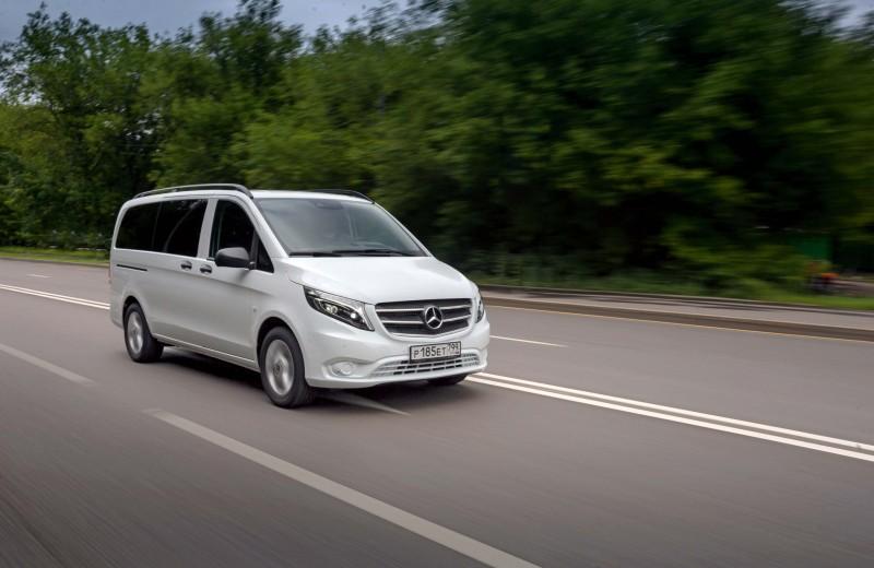Mercedes-Benz Vito: вагоновождение
