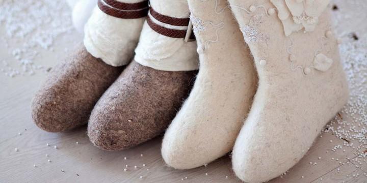 Уход за обувью зимой