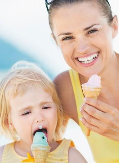 Мороженое: эмульсия из жира, сахара и воздуха