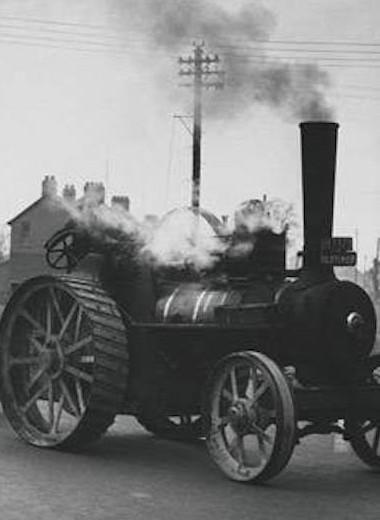 Паровая машина Серполе