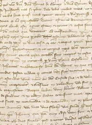 Загадки письма Фиески