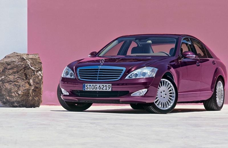 Mercedes-Benz S-Класса: гуляем на полную
