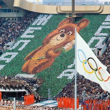 Открытие Олимпиады в Москве