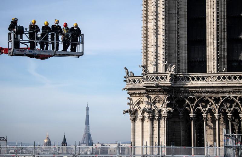 Собор парижской реставрации