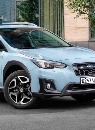 Subaru XV: крепко сбитый