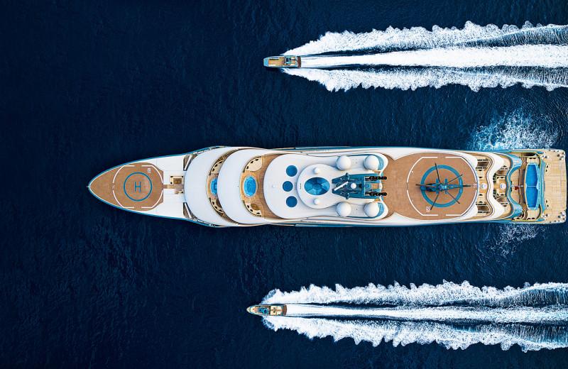 Топ-50 чартерных яхт мира