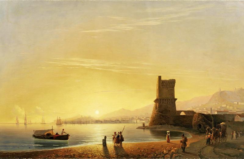 Тихая гавань Айвазовского
