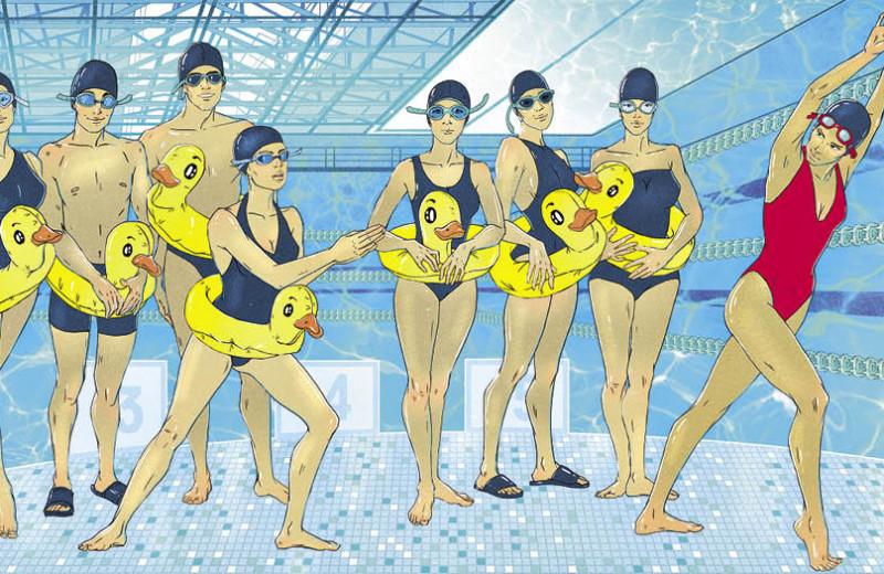 10 тренеров по плаванию