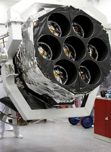 «Первый свет» телескопа eROSITA