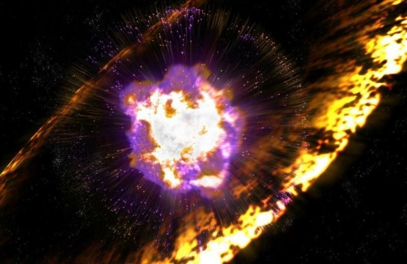 Взрыв сверхновой разложили на этапы