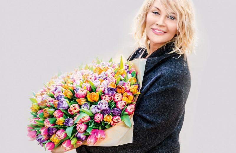 Таисия Повалий:Любовь помогает женщине расцвести!