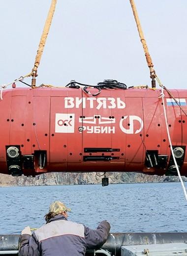 Миссия подводного робота