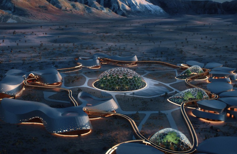 Interstellar Labпланирует построить«марсианскую деревню»в пустыне Мохаве