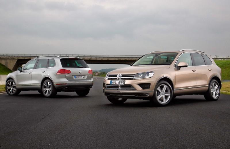 Volkswagen Touareg: шипы розы