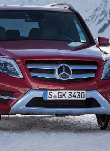 Mercedes-Benz GLK: дела сердечные