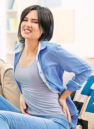 5 причин боли в спине