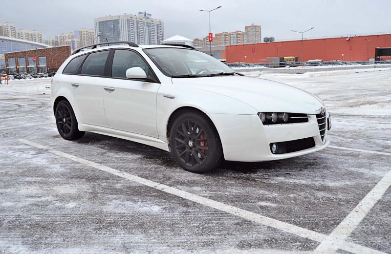 Alfa Romeo 159 Sportwagon: снежная королева