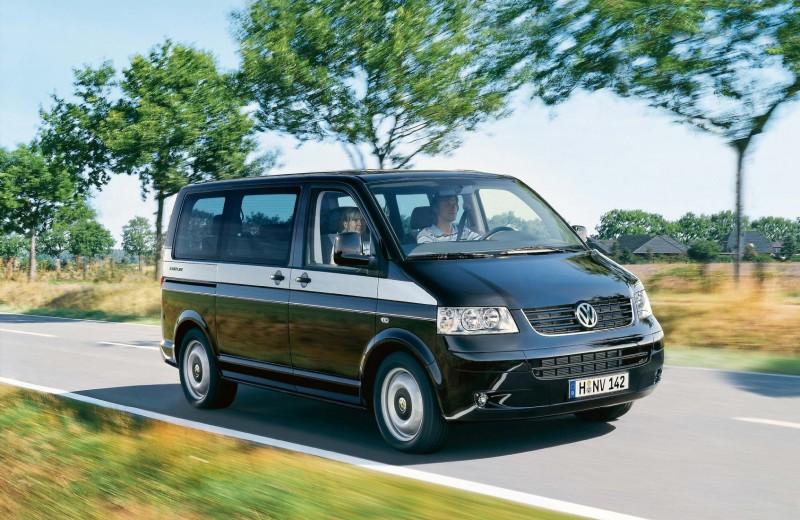 Volkswagen Multivan T5: бизнес и не только