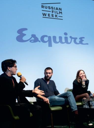 Esquire собрал молодых героев российского кино в старейшем кинозале Лондона