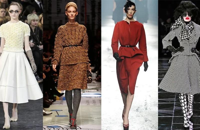 New look и сериал «Mad Men»: Louis Vuitton FW10, Prada FW10, Lanvin FW09, Alexander McQueen FW09