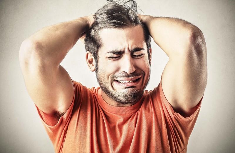 Мужчины не плачут?