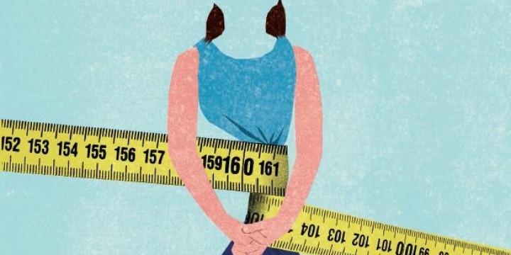 10 лет я страдала анорексией