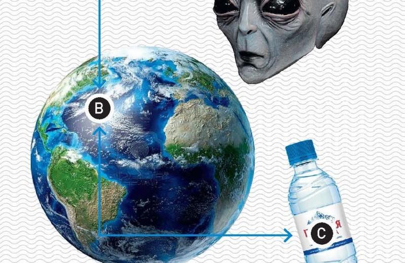 Что общего у инопланетян и минералки?