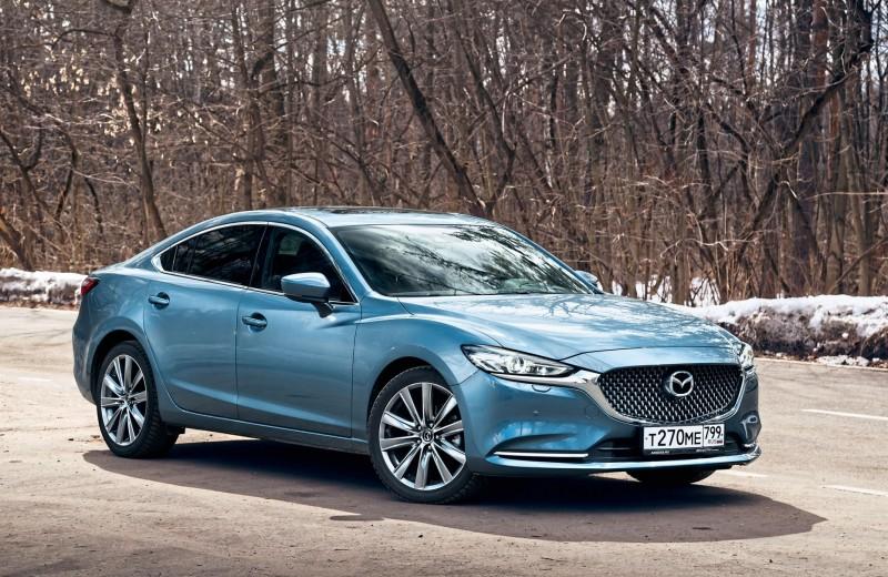 Mazda6: Еще рывочек