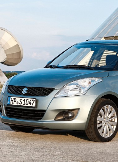 Suzuki Swift: Мал да удал