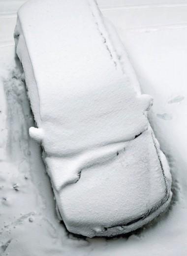 Зима! Водитель торжествует?!