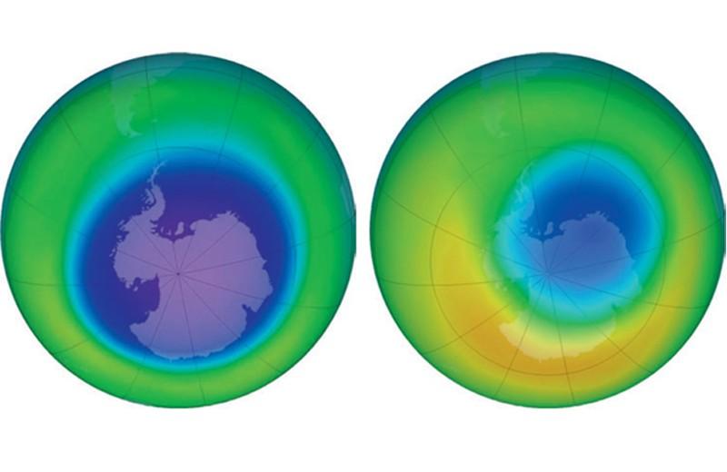 Странная весна в Антарктике, или почему уменьшилась озоновая дыра