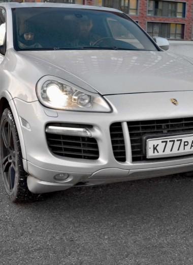Porsche Cayenne: остаемся зимовать!