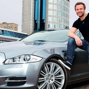Jaguar XJ Supercharged поднимает настроение Роману Черницыну