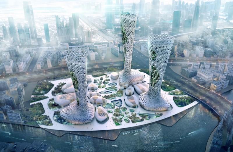 Symbiotic Towers – симбиоз архитектуры и природы
