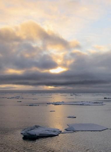 Поток метана от арктических морей: Взгляд из космоса