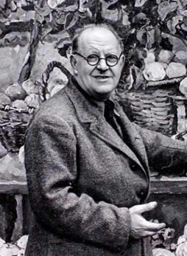 Портрет художника в чекистском интерьере
