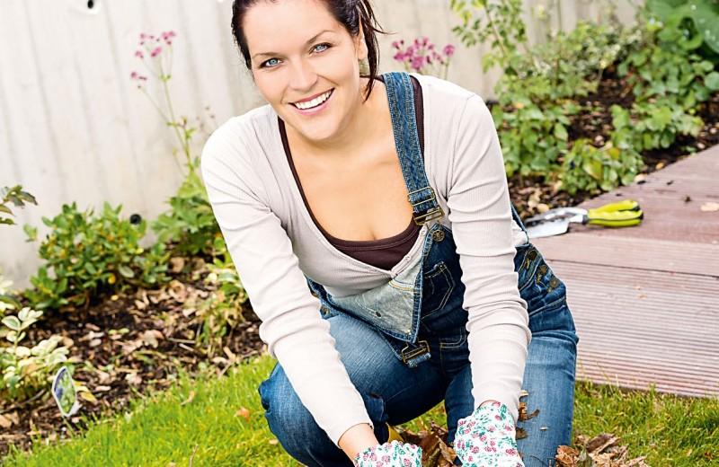Генеральная уборка в саду
