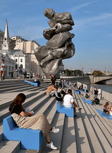 Скульптура, состоящая из ассоциаций