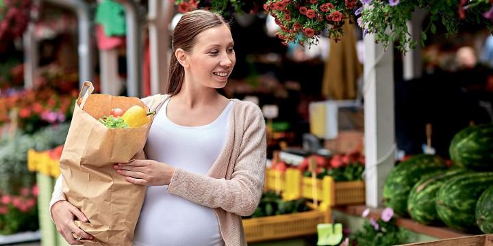 Экология питания беременной женщины