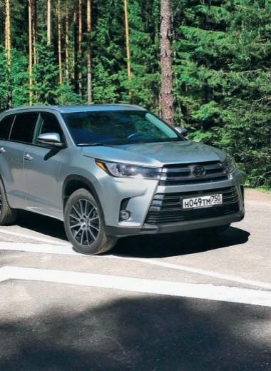Из Америки с любовью Toyota Highlander третьего поколения