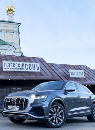 7,3 млн рублей за 4,8 секунд: зачем в России спортивный внедорожник Audi SQ8