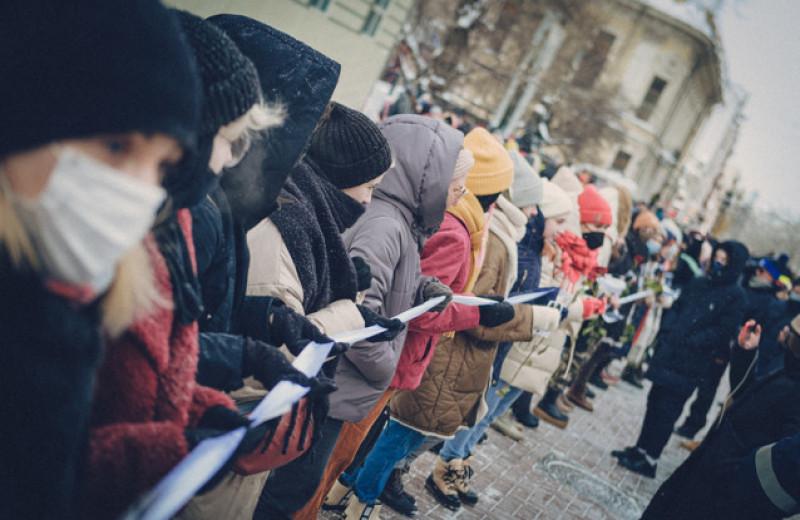 Как прошла женская акция солидарности и протеста в Москве