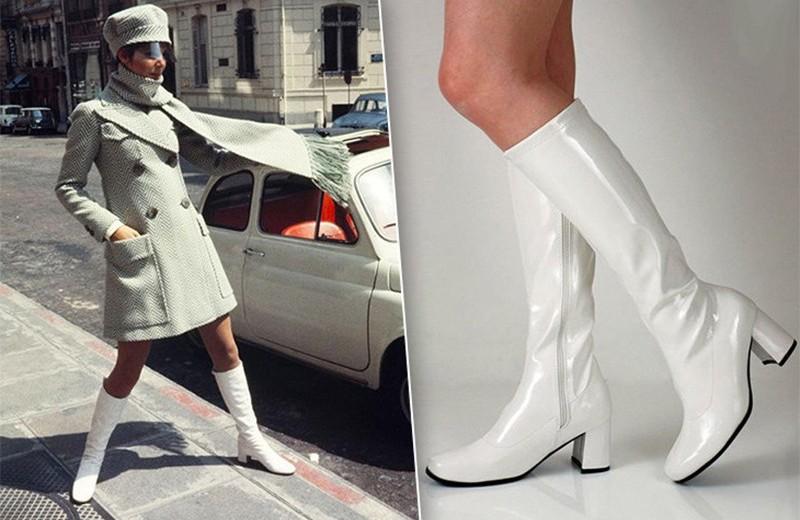 Сапоги гоу-гоу: что такое Go-Go Boots и как носить эту обувь