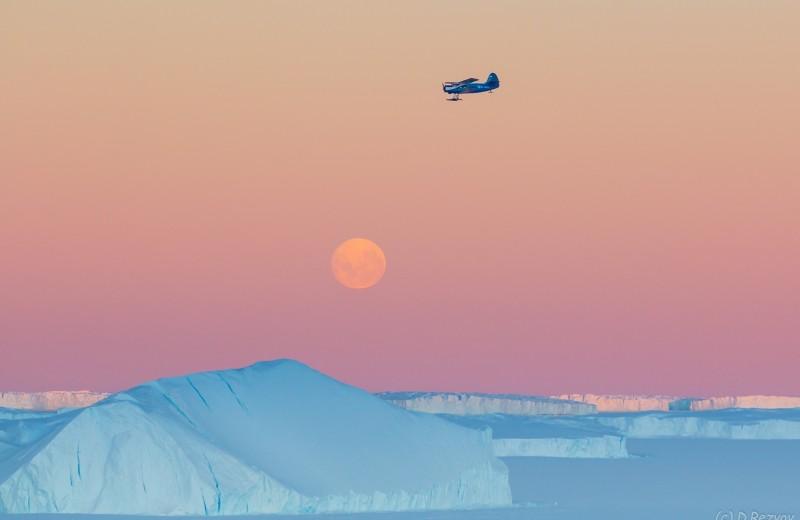 Баренцево море наводнили айсберги из Гренландии. Они угрожают судам и добывающим платформам