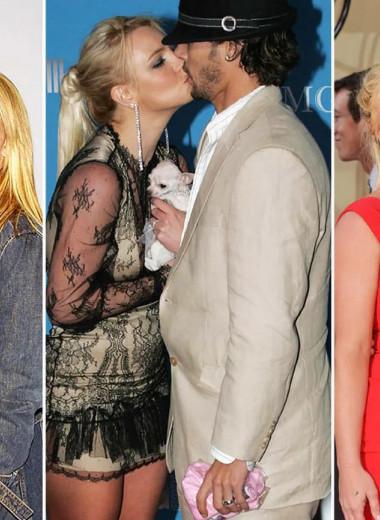 Любимые мужчины Бритни Спирс: Тимберлейк, Фаррелл, Федерлайн, Асгари и другие