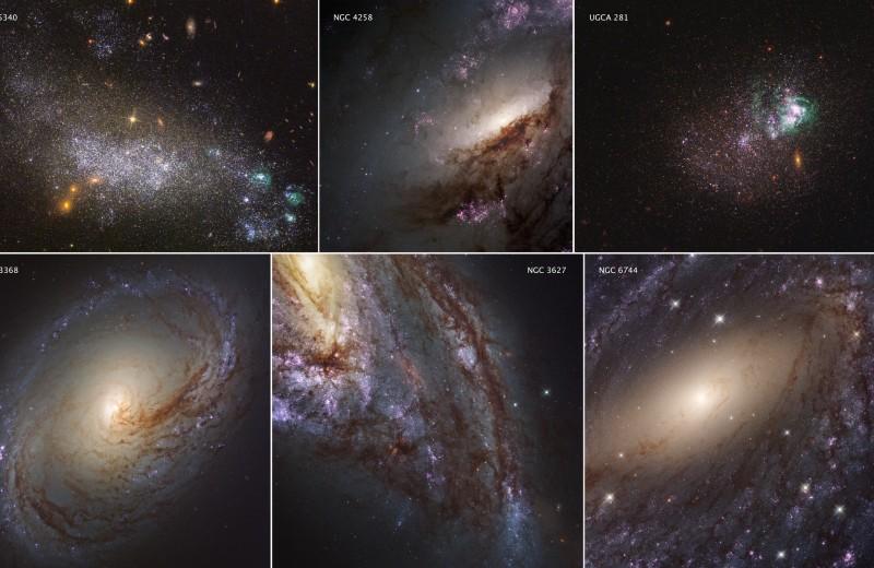 Новые фото далеких галактик из самого подробного каталога звездного неба