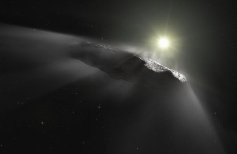 Форму и ускорение межзвездного астероида Оумуамуа объяснили особенностями происхождения