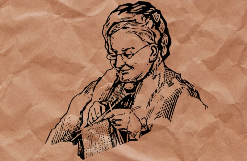 Каким образом вязание служило шпионским инструментом во время войны (бабушка?…)