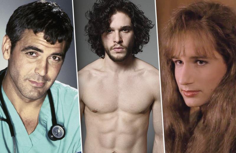 Джордж Клуни, Дэвид Духовны, Кит Харингтон — секс-символы, вышедшие из сериалов