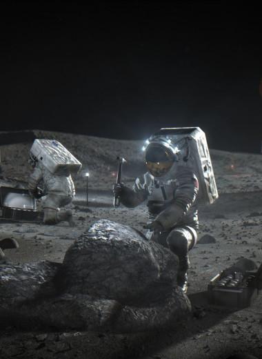 NASA нашло воду на солнечной стороне Луны: видео